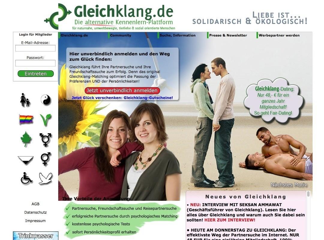 Dating-Mitgliedschaft auf Websites