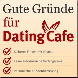 Gründe für Dating Cafe ©Datingcafe.de
