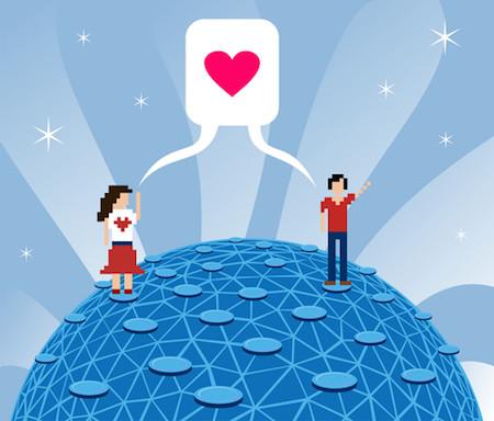 Flirten mit Apps